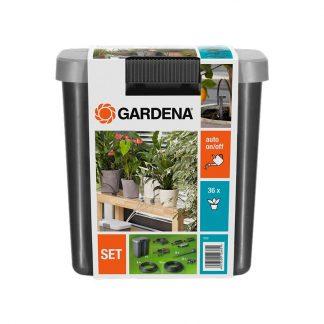 Комплект для полива в выходные дни с емкостью 9 л арт 1266 Gardena