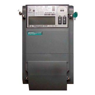 Счетчик электроэнергии трехфазный многотарифный Меркурий 234 ARTM-01 POB.L2 5/60А кл1/2 230/400В ЖКИ