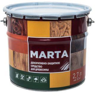 Декоративно-защитное средство для дерева MARTA