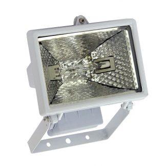 Прожектор галогенный белый с дугой крепления 150Вт