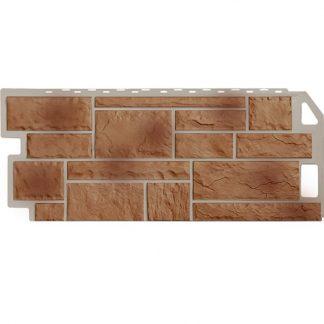 Панель фасадная FineBer Камень терракотовый 1137х470мм