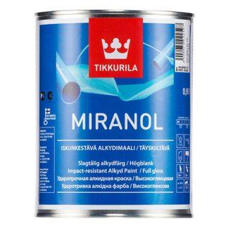 Эмаль универсальная Tikkurila Miranol база А 2.7л