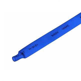 Термоусадка синяя 8