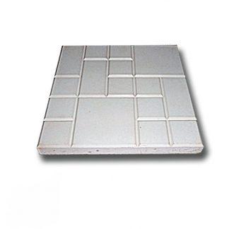 Плитка тротуарная Рваная сетка серая (250х250х25)