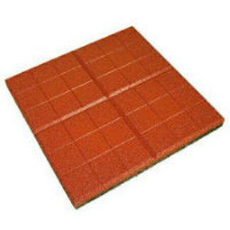 Плитка тротуарная Сетка красная (350х350х50)
