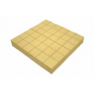 Плитка тротуарная Сетка желтая (350х350х50)