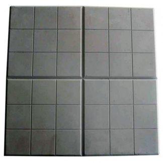 Плитка тротуарная Сетка черный (350х350х50)