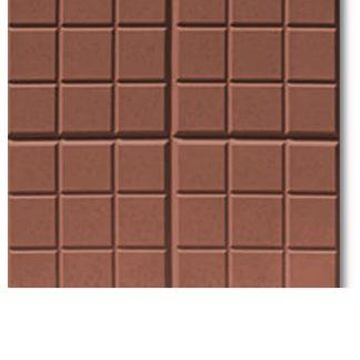 Плитка тротуарная Сетка коричневый (350х350х50)