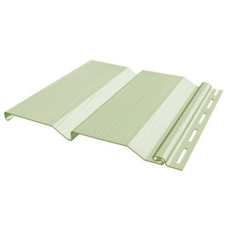 Сайдинг виниловый FineBer Standart Classic Color салатовый 3660х205мм