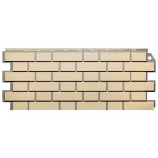 Панель фасадная FineBer Кирпич облицовочный желтый 1130х463мм
