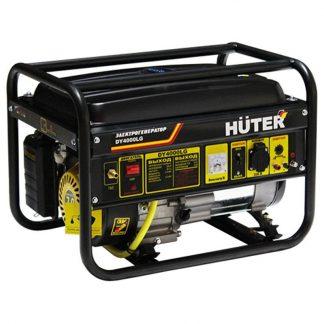 Электрогенератор газовый DY4000LG Huter