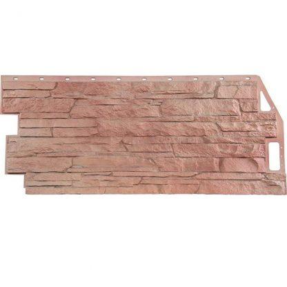 Панель фасадная FineBer Скала терракотовый 1094х459мм