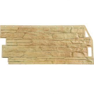 Панель фасадная FineBer Скала бежевый 1094х459мм