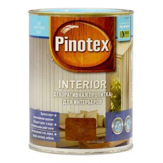 Пропитка декоративная для интерьеров Pinotex Interior б/цвет.
