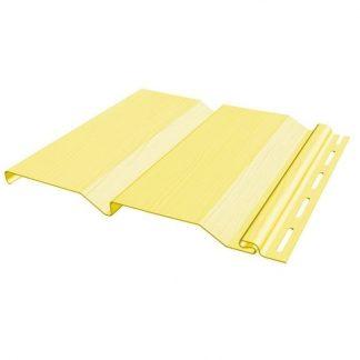 Сайдинг виниловый FineBer Standart Classic Color кремовый 3660х205мм
